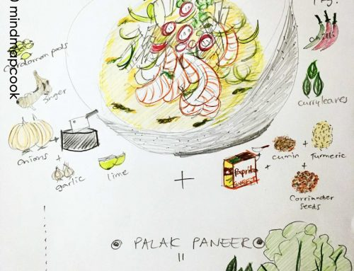 Seafood Masala and Palak Paneer by ©mindmapcook